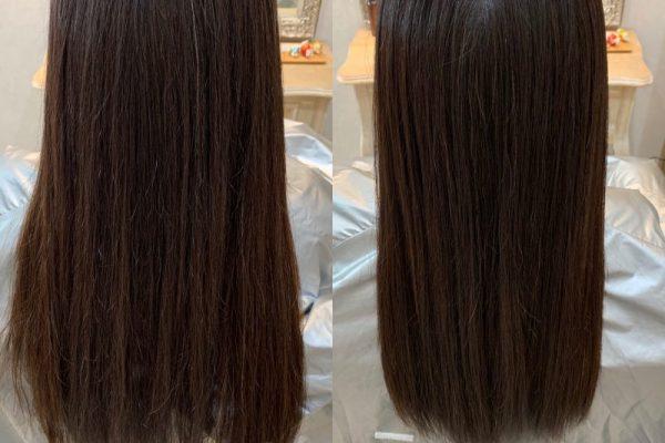 髪質改善カラーエステ2回目