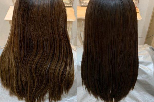 髪質改善カラーエステ😊✨
