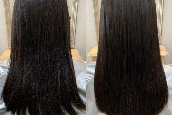 艶髪を引き出す