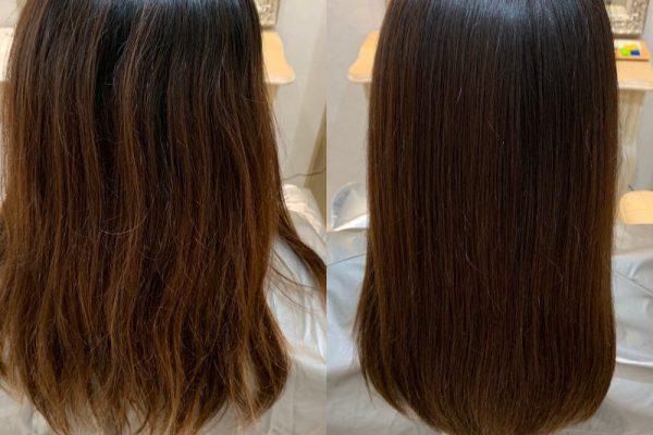 髪質改善カラーエステ🍀