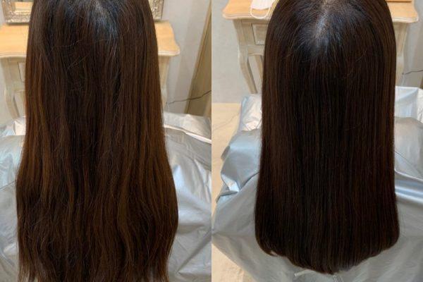 髪質改善カラーエステ😊