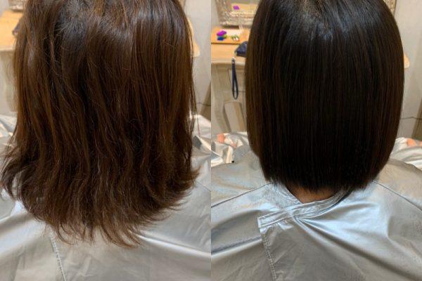 髪質改善カラーエステ3回目