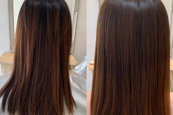 髪質改善カラーエステ